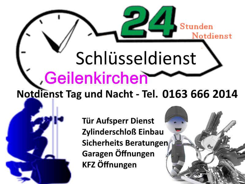 Schlüsseldienst Geilenkirchen Frelenberg Übach Palenberg Teveren zum Festpreis