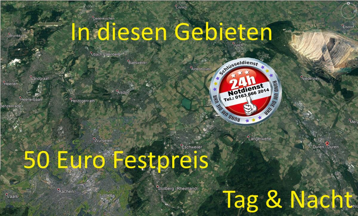 Schlüsseldienst Geilenkirchen Heinsberg Sittard sowie Schlüsseldienst Wassenberg Hückelhoven zum Festpreis